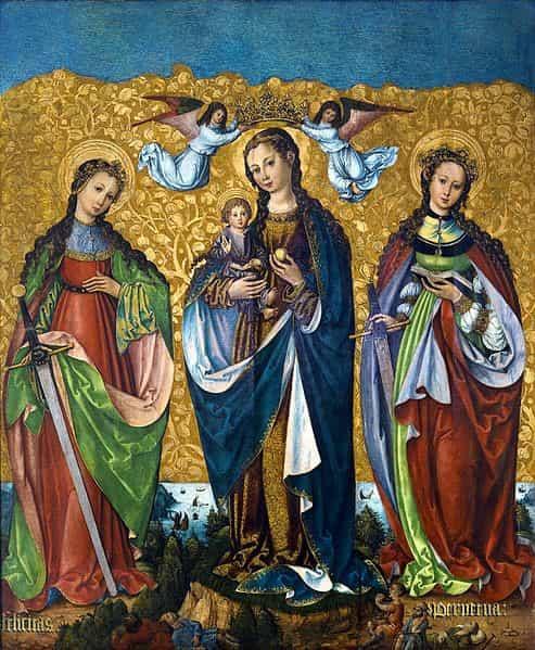 Santa Perpetua, Santa Perpetua y Felicidad,  lesbianas, Santa Perpetua y Felicitas, santas lesbianas