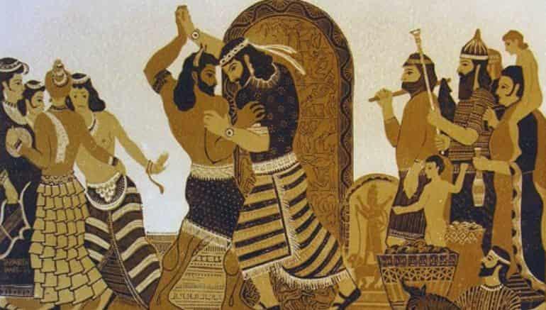 Gilgamesh, Gilgamesh y Enkidu, Enkidu