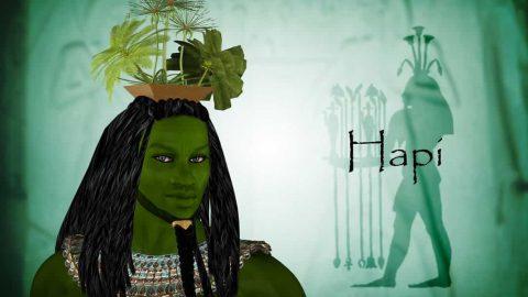 Hapi, el dios egipcio transgénero de la fertilidad