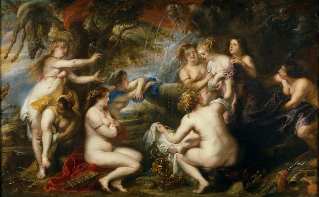 mito lesbico, calisto y diana mito, Diana and Callisto