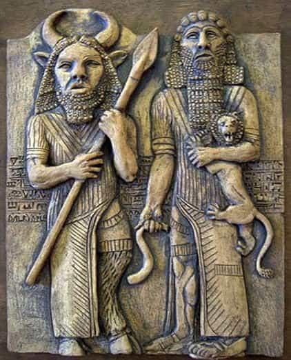 Gilgamesh y Enkidu, romance gay más antiguo